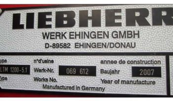 Liebherr LTM 1200-5.1 full