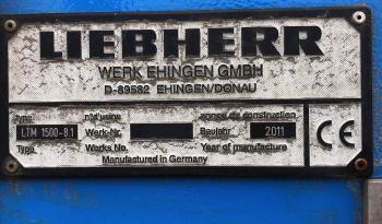 Liebherr LTM 1500-8.1 full